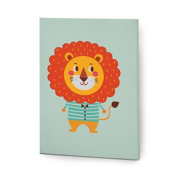 Cute Animals Pictures Series Canvas Wall Art Decal Painting Prints Decor Lion