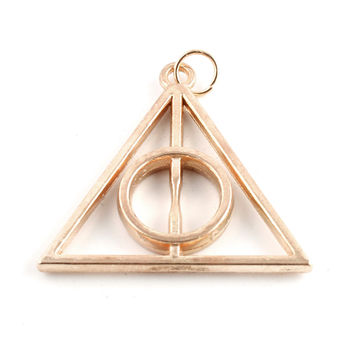 Large Deathly Hallows Charm