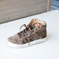 Maa Union High Top Camouflage Sneakers