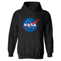 XXL NASA Hoodie Streetwear Hip Hop Black Hooded Hoody The Martian Matt Damon Mens Hoodies and Sweatshirts 4XL Plus Size