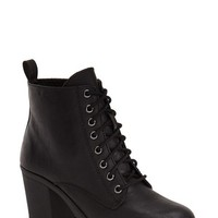 Women's MIA 'Kat' Lace-Up Lug Bootie,