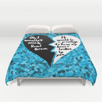 The Fault in Our Stars #3 Duvet Cover by Anthony Londer | Society6