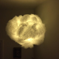 "14"" Cloud Light with multi-funtioning white LED lights"