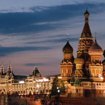 """Moscow Red Square Skyline poster 16""""x24"""" Poster 16inx24in"""