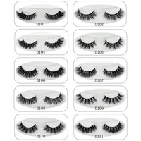 Focallure 3D Mink Lashes Eyelashes Thick Natural False Eyelashes Handmade Fake Eye Lashes Extension for Beauty Makeup 11 styles