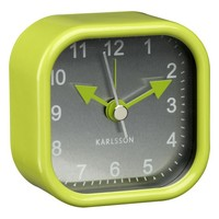 Green Alarm Clock in Clocks | Crate&Barrel