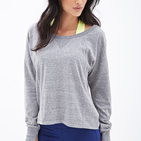 FOREVER 21 Athletic Pullover Sweater