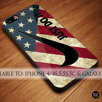 nike america flag iPhone Case Galaxy Case iPad Case HTC Case