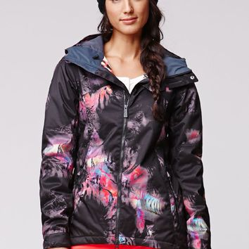 Volcom Flint Insulated Jacket - Womens Sweaters - Black
