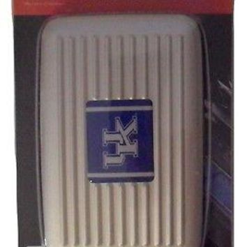 Kentucky Wildcats UK Aluminum Wallet with RFID Blocking Technology
