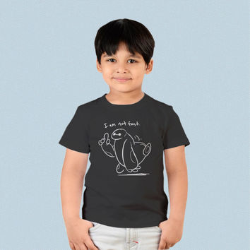 Kids T-shirt - I Am Not Fast Baymax Big Hero 6
