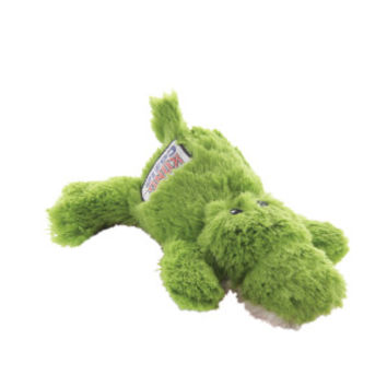 KONG® Plush Ali The Aligator Squeaker Dog Toy