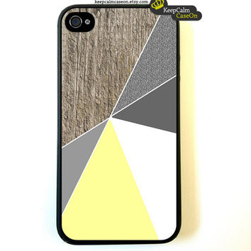 iPhone 4 Case Geometrical Art Iphone 4s case by KeepCalmCaseOn