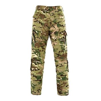 Men multipurpose pockets Tactical Ripstop Pant Urban Cargo Camouflage Pants overalls clothing Casual Army long camo Pant
