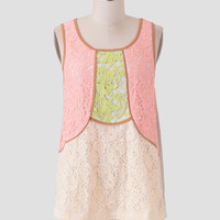 Park In The Spring Lace Top