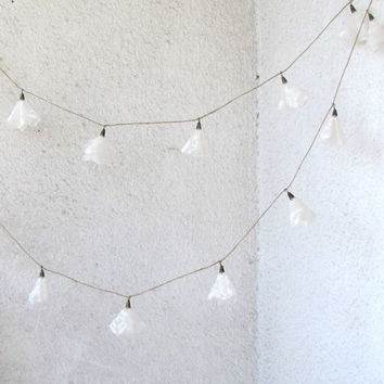 White Lace garland wedding garland garden party wedding décor spring décor Christmas garland