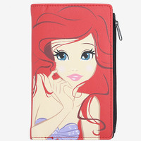 Loungefly Disney The Little Mermaid Ariel Big Face Zipper Wallet