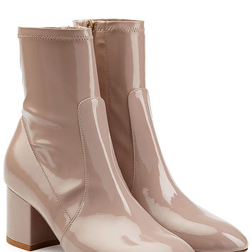 Valentino - Patent Leather Ankle Boots