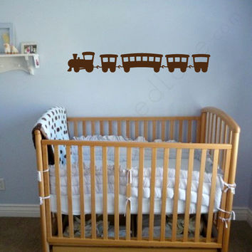 Nursery wall decal - Choo Choo Train