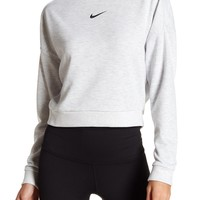 Nike | Dri-Fit Logo Cropped Pullover | Nordstrom Rack