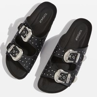 FALCON Stud Sandals - Flats - Shoes