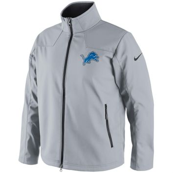 Nike Detroit Lions Softshell Full Zip Jacket - Gray