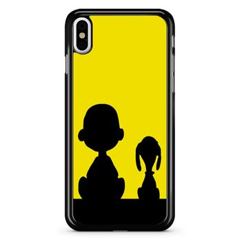Snoopy And Charlie Brown iPhone X Case