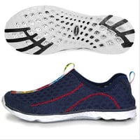 2015 Mens Sport Sneakers Shoes Breathable Mesh Men Shoes Super Light Casual Summer Women Sneakers Running Shoes Water