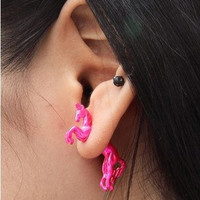 Colorful Unicorn Earrings