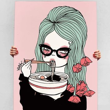 Udon Know Me Canvas Print