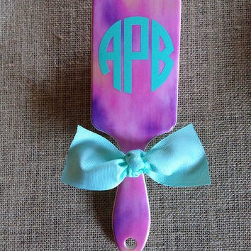 Personalized Hair Brush {Purple/Ombre}