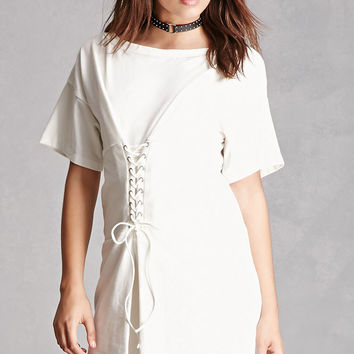 Corset T-Shirt Dress