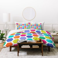 Jacqueline Maldonado Hexagon 2 Duvet Cover