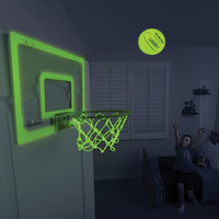 The Glow In The Dark Indoor Basketball Hoop