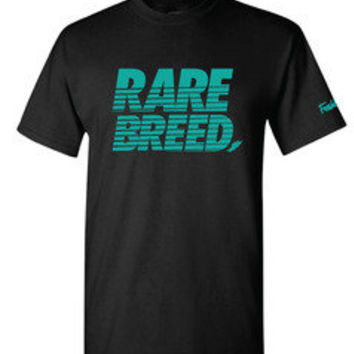 Freshletes — Rare Breed Tee - Black/Teal