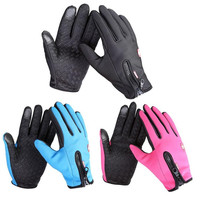 Windstopper Outdoor Sports Snowboard Skiing Riding Bike Cycling Gloves Windproof Winter Gloves Thermal Warm Touch Screen Gloves