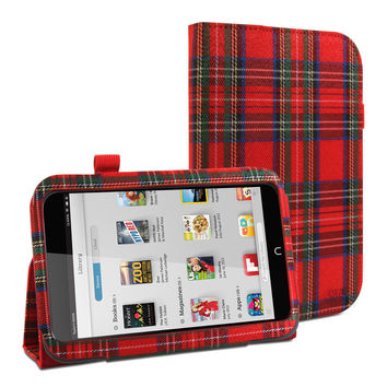 Folio Case Classic (Royal Stewart) for Nook HD7