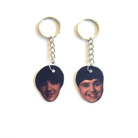 Drake and Josh Boobs Inspired Friendship Keychains