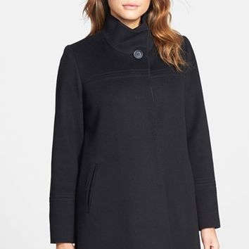 Women's Fleurette Stand Collar Loro Piana Wool Coat (Nordstrom Exclusive)