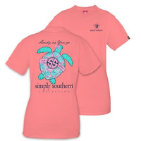 "Simply Southern ""Sea Turtle"" Short Sleeve Tee"