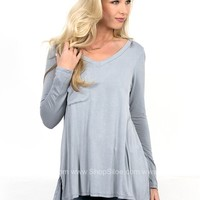 Stella Solid Pocket Top | Colors