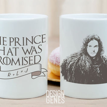 The prince that was promised Jon Snow Game of Thrones mug