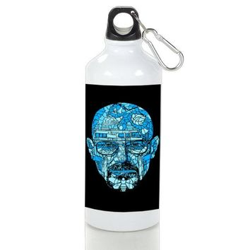 Gift Sport Bottles | Heisenberg Stained Glass Aluminum Sport Bottles
