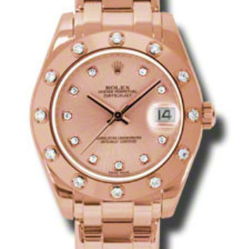Rolex - Datejust Pearlmaster 34 Everose Gold