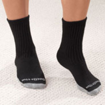 Antimicrobial DocOrtho Silver Diabetic Socks - 2 Pack