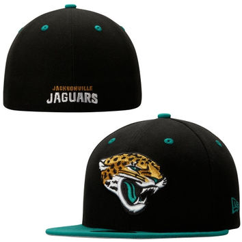 Jacksonville Jaguars New Era Two-Toned 59FIFTY Fitted Hat – Teal/Black