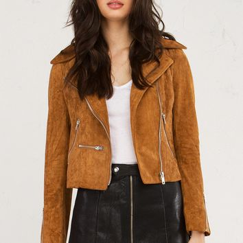 SUEDE LOVE JACKET - What's New