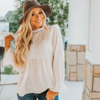 Romantic Boho Lace Top