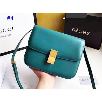 Celine sells simple solid-colored shopping bag with a stylish retro shoulder bag #4
