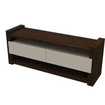 Noblesse TV Cabinet Wenge/Off White
